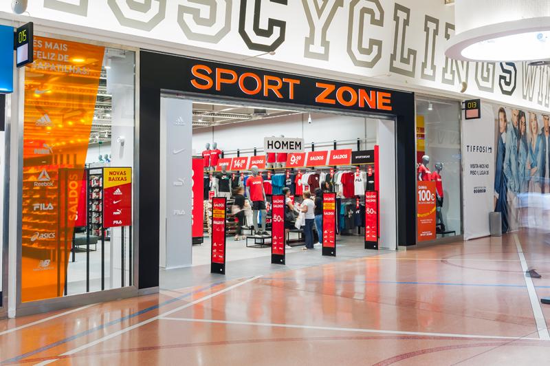 Sport Zone reabre loja no Dolce Vita Ovar Agência de